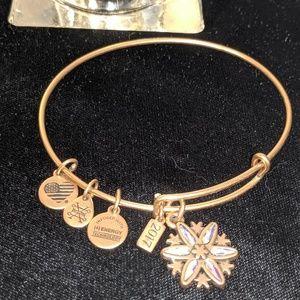 Alex and Ani 2017 Snowflake Bracelet